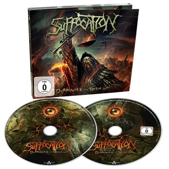 SUFFOCATION: PINNACLE OF BEDLAM (CD+DVD)