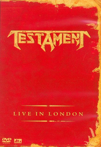 TESTAMENT: LIVE IN LONDON (DVD)