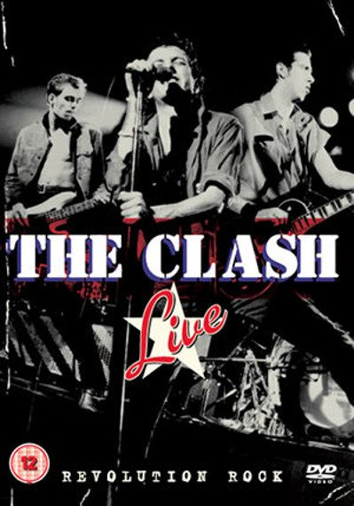 THE CLASH: THE CLASH LIVE REVOLUTION ROCK(DVD)