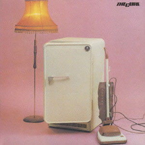 THE CURE : THREE IMAGINARY BOYS (CD)