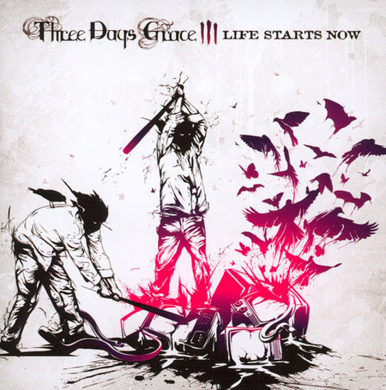 THREE DAYS GRACE: LIFE STARTS NOW (CD)