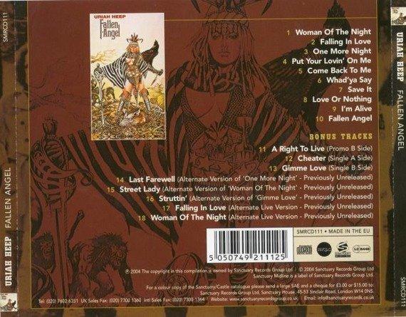 URIAH HEEP: FALLEN ANGEL (CD) REMASTER