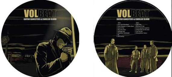 VOLBEAT: GUITAR GANGSTERS & CADILLAC BLOOD (LP PICTURE VINYL)