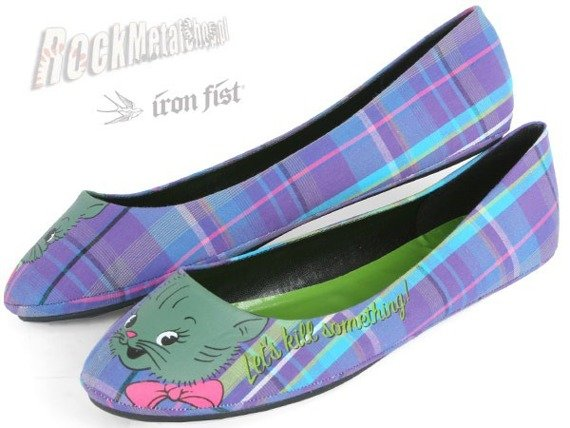 balerinki IRON FIST (Sometching Ballet Flat)(Purple)