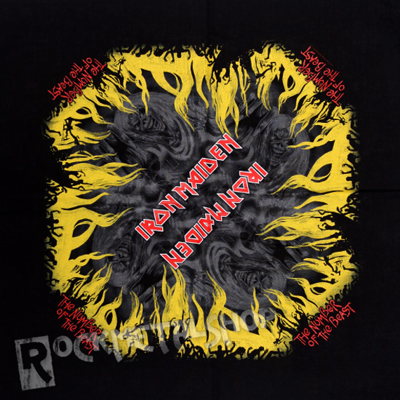 bandana IRON MAIDEN - THE NUMBER OF THE BEAST