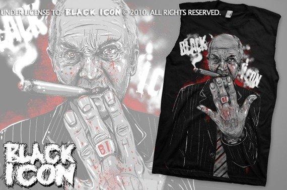 bezrękawnik BLACK ICON - THE KNIFE MAN (BRICON023)