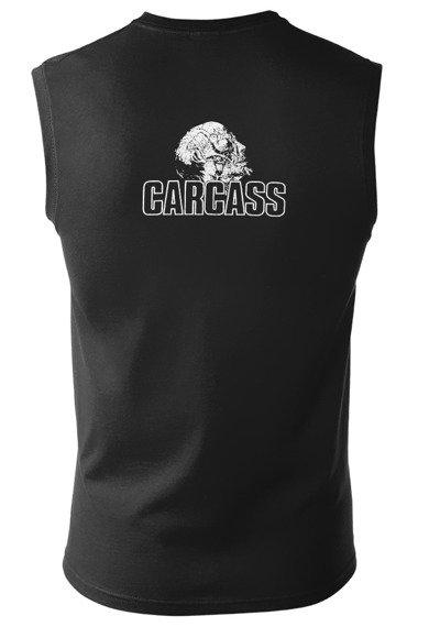 bezrękawnik CARCASS - LOGO