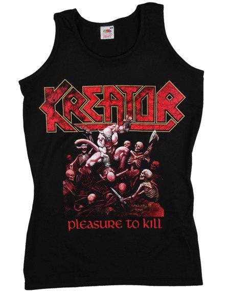 bezrękawnik KREATOR - PLEASURE TO KILL