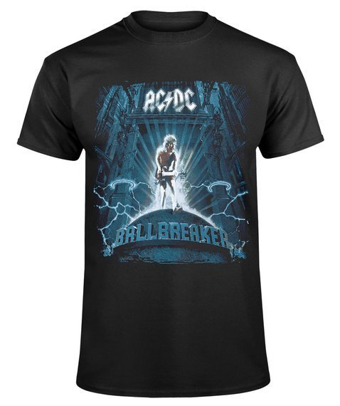 bluza AC/DC - BACK IN BLACK czarna, z kapturem