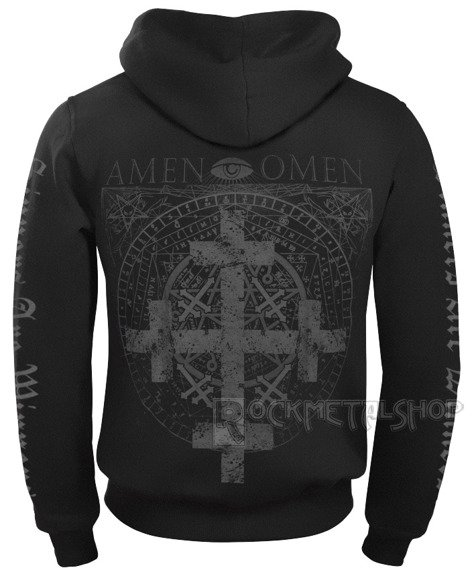 bluza AMENOMEN - FOUR CROSS rozpinana, z kapturem (OMEN064CR)