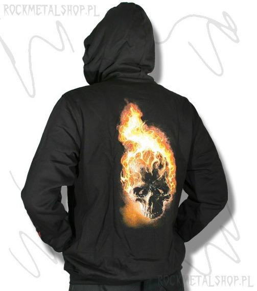 bluza ANGEL OF DEATH - FLAME SKULL