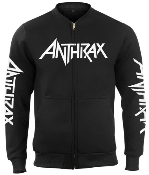 bluza ANTHRAX - AMONG THE LIVING bejsbolówka, rozpinana