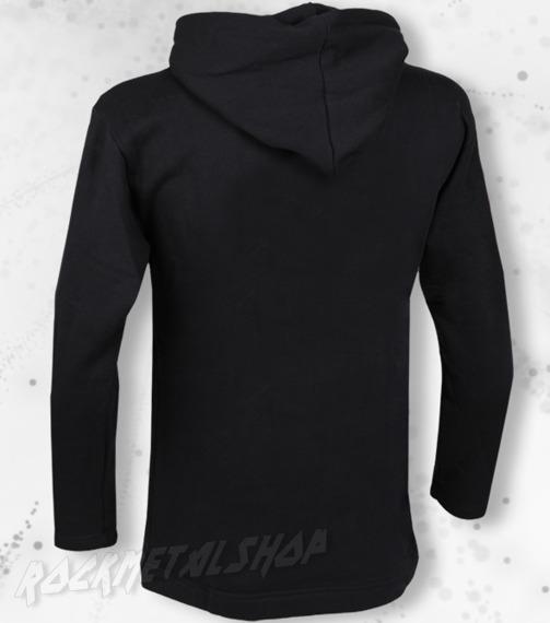bluza BLACK ICON - GREMLIN czarna z kapturem