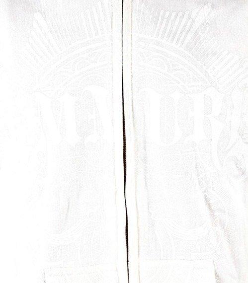 bluza EMMURE - WHITE CREST rozpinana, z kapturem