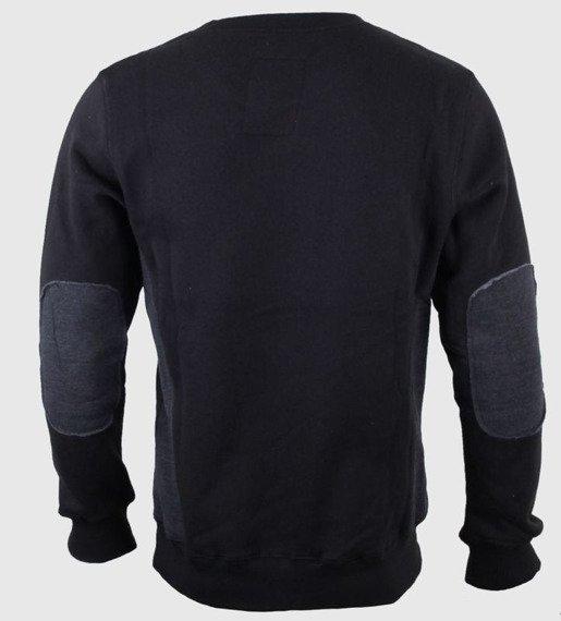 bluza JACK DANIELS - OLD NO.7 czarna, bez kaptura