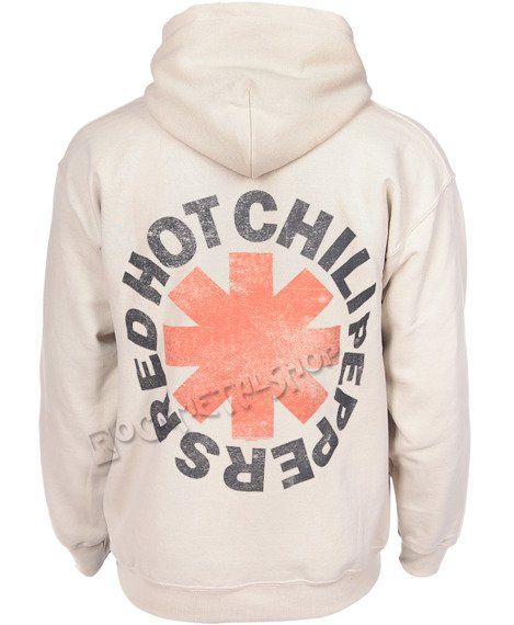 bluza RED HOT CHILI PEPPERS - WASHED OUT ASTERISK, bez kaptura