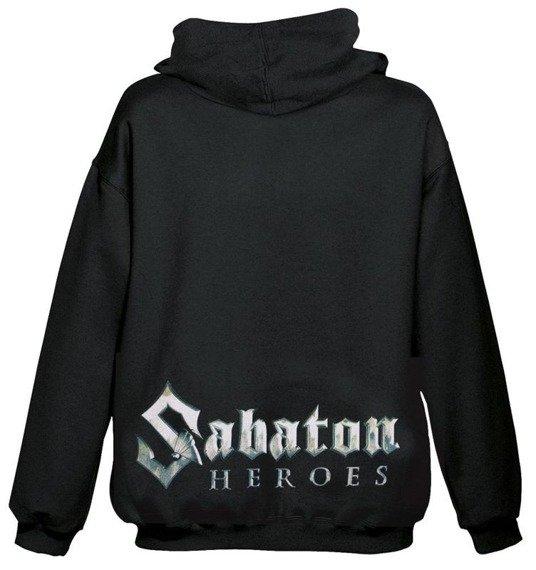 bluza SABATON - HEROES, rozpinana z kapturem