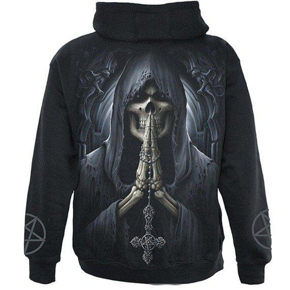 bluza rozpinana z kapturem DEATH PRAYER