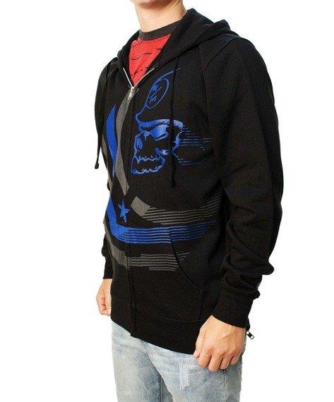 bluza rozpinana z kapturem METAL MULISHA - DIMINISH czarna
