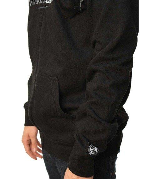 bluza rozpinana z kapturem METAL MULISHA - RANKS czarna
