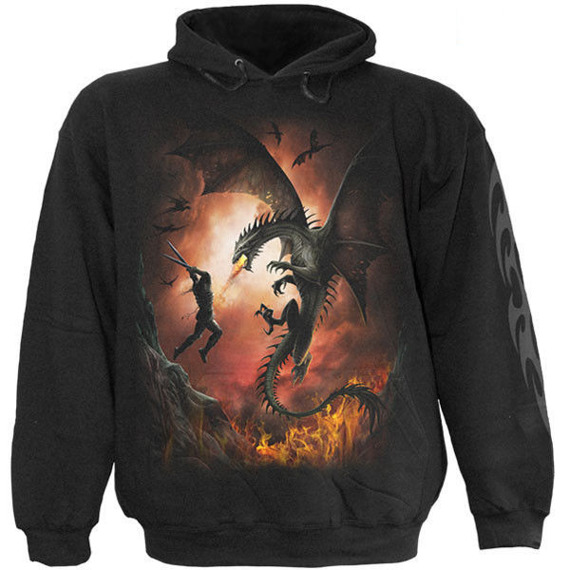 bluza z kapturem DRAGON WARRIOR