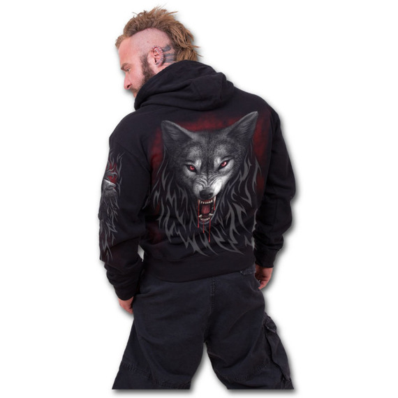 bluza z kapturem LEGEND OF THE WOLVES