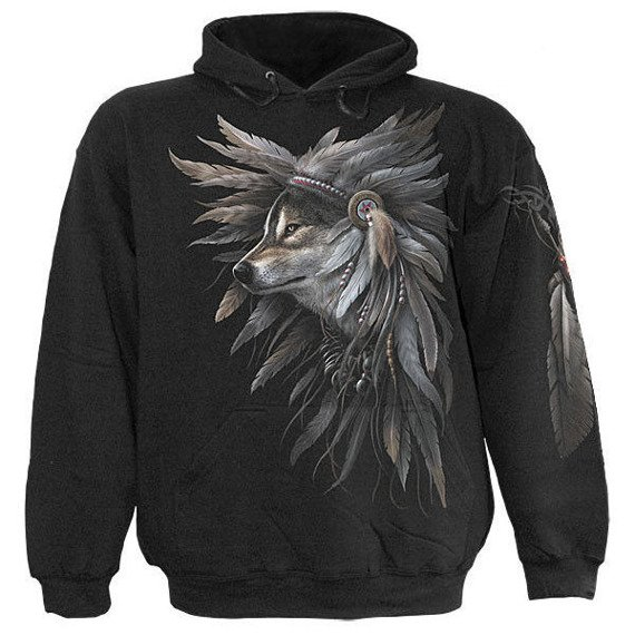 bluza z kapturem SPIRIT OF THE WOLF