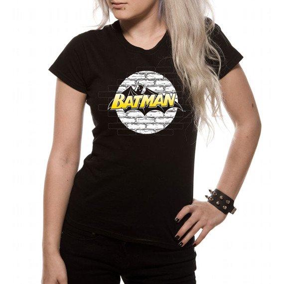 bluzka damska BATMAN - WALL LOGO