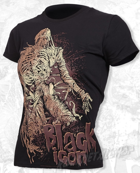 bluzka damska BLACK ICON - MUMMY (DICON033 BLACK)