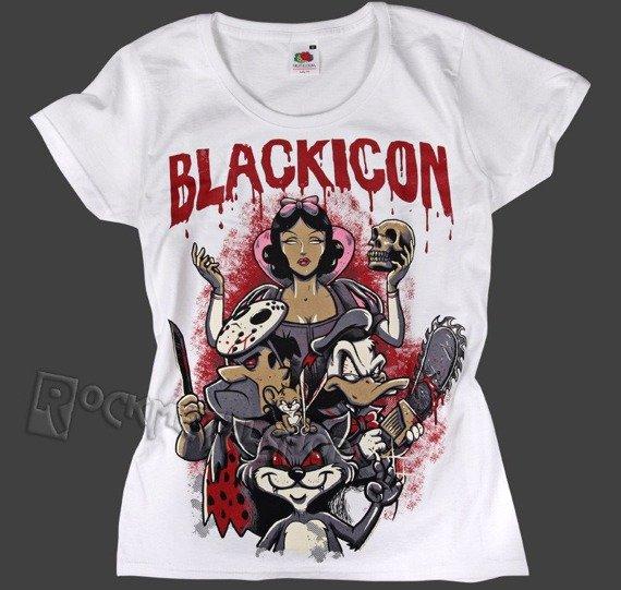 bluzka damska BLACK ICON - NIGHTMARE (DICON122 WHITE)