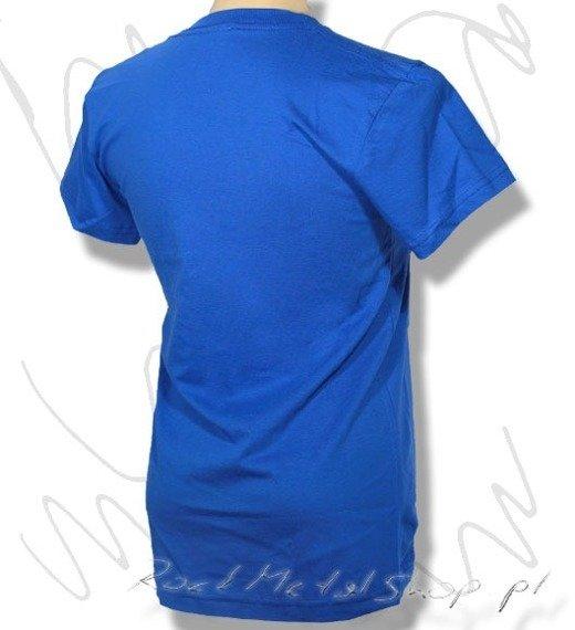 bluzka damska ETNIES  SKETCHY  ARTIC BLUE wiosna 2008