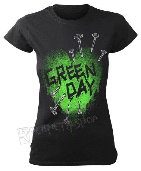 bluzka damska GREEN DAY - NAIL HEART