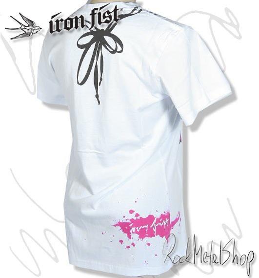 bluzka damska IRON FIST (GOOD CLEAN FUN-WHITE)