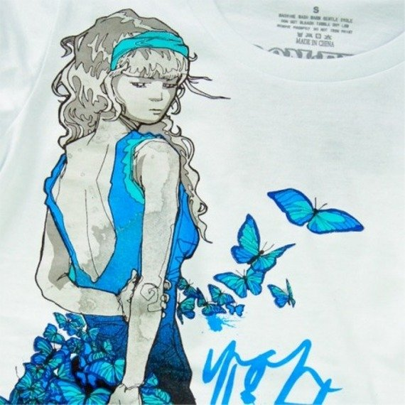 bluzka damska IRON FIST - MADAM BUTTERFLY (WHITE)