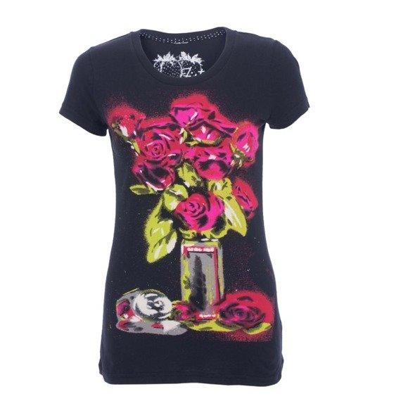 bluzka damska IRON FIST - ROSEBUDS black