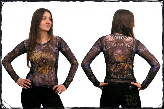 bluzka damska IRON MAIDEN-BEAST