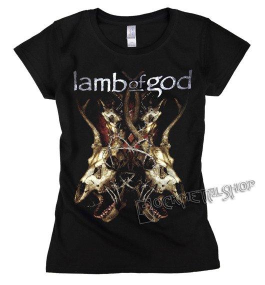 bluzka damska LAMB OF GOD - TANGLED BONES