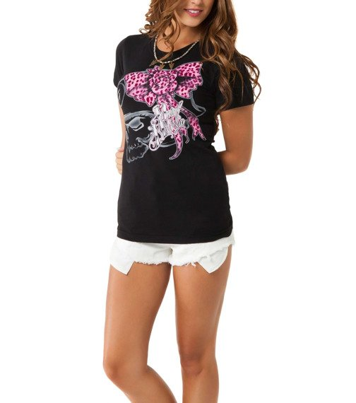 bluzka damska METAL MULISHA - CATTY czarna
