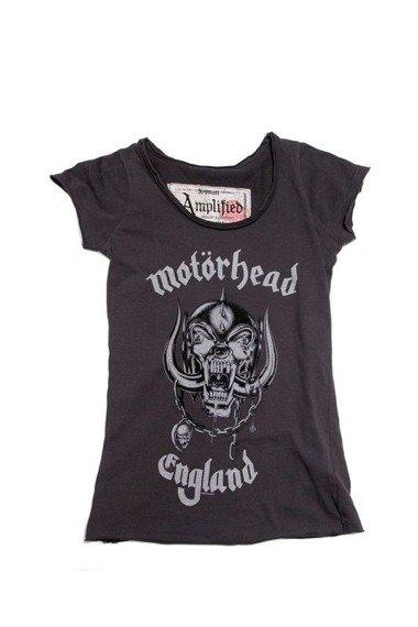 bluzka damska MOTORHEAD - ENGLAND CHARCOAL
