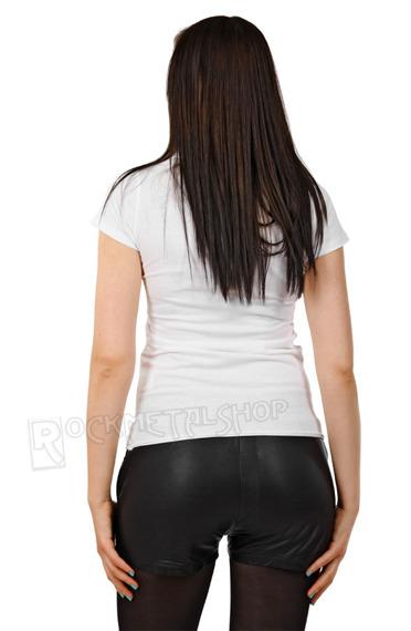 bluzka damska RED HOT CHILI PEPPERS - HYPER COLOUR biała