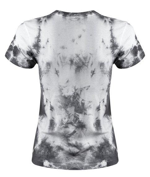 bluzka damska barwiona WHITE-BLACK