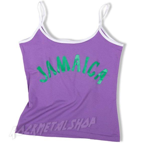bluzka na ramiączka JAMAICA fioletowa