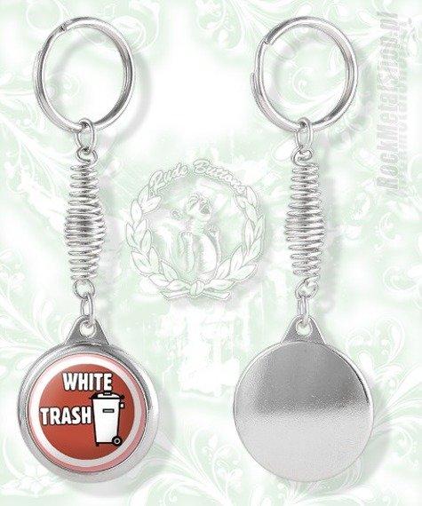 brelok WHITE TRASH