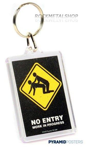 brelok do kluczy NO ENTRY (PK1086)