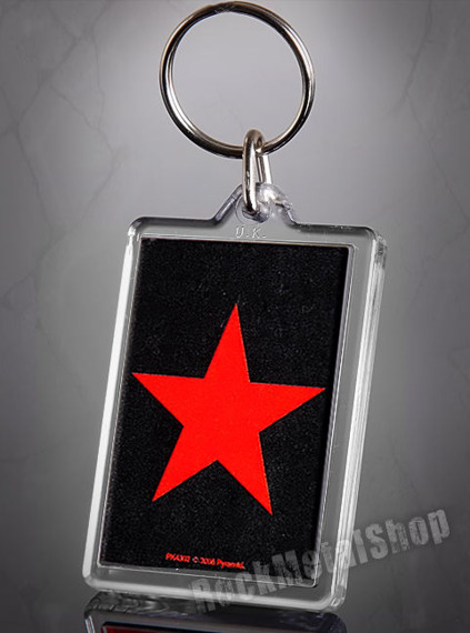 brelok do kluczy RED STAR