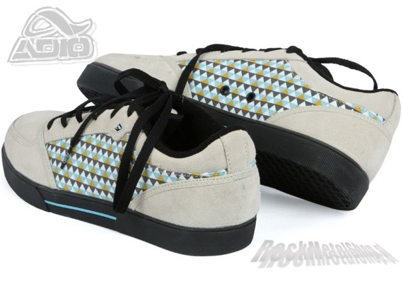 buty ADIO - CASCADE (WHITE/BLACK/BLUE)