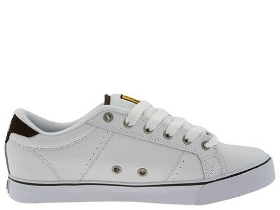 buty ADIO - KENNY STANDARD (WHITE/BROWN/YELLOW)