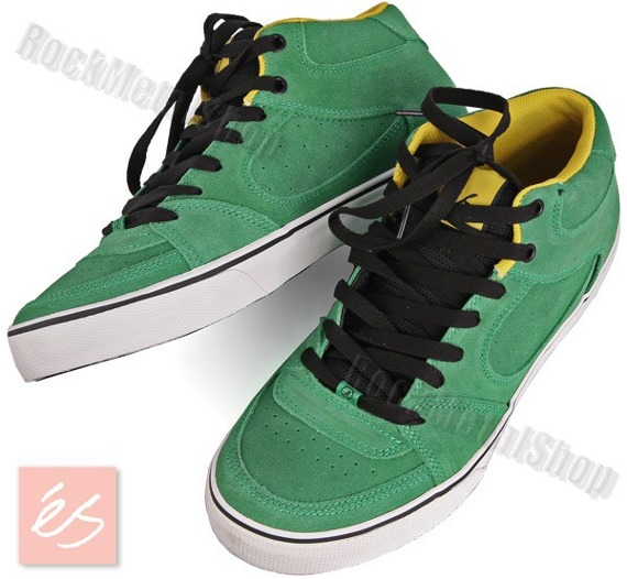 buty ES - SQUARE ONE MID (GREEN/WHITE/BLACK)