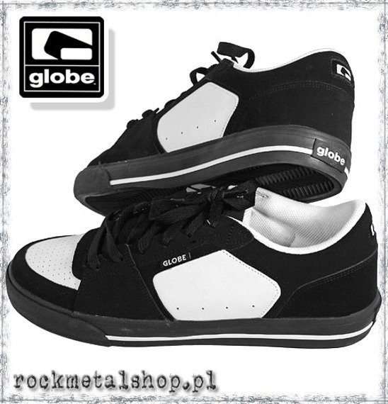 buty GLOBE - MAGNUM black/white/black