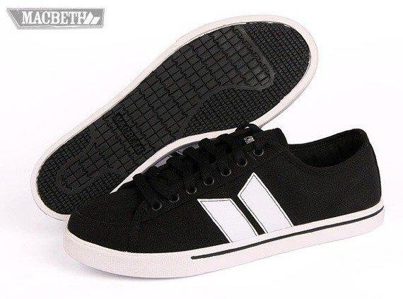 buty MACBETH - MANCHESTER (BLACK/WHITE) 09'